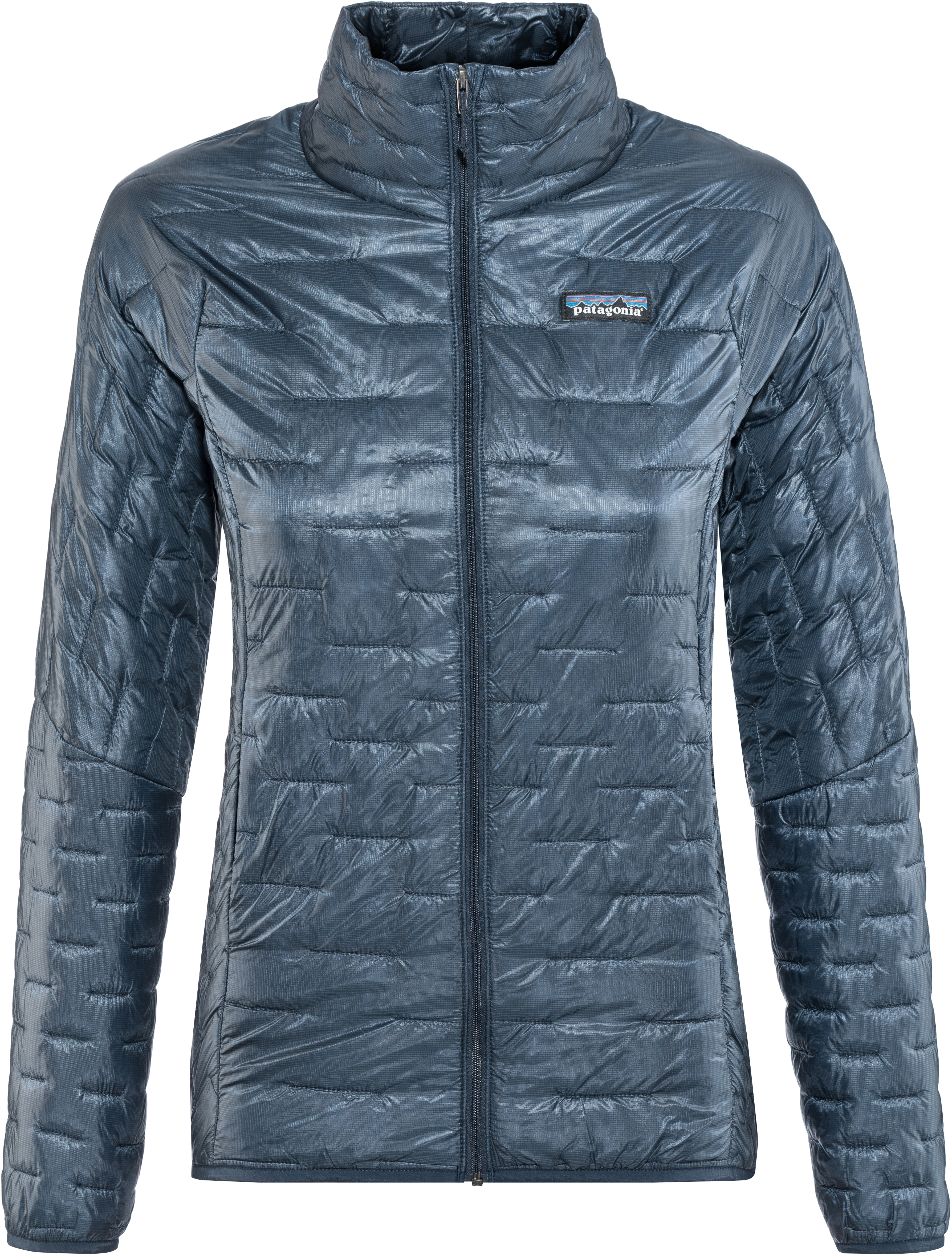 a28b47e1a1d15 Patagonia Micro Puff Jacket Women blue at Addnature.co.uk